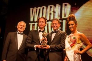 Quito Turismo en la entrega del premio