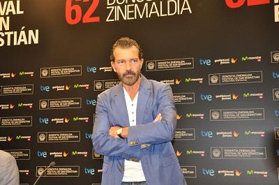 Antonio Banderas, actor y productor de la pelicula Autómata