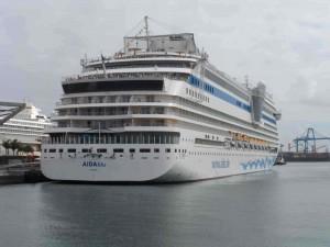 crucero-AidaBlu-Puerto-las-Palmas