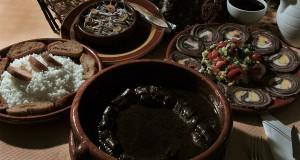 Platos de lamprea