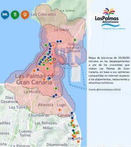 Mapa_Isocronas_Cruceristas_las_palmas_de_gran_canaria