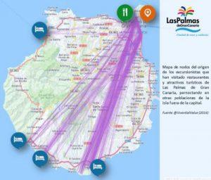Mapa_Nodos_Excursionistas_las_palmas_de_gran_canaria